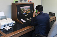 North Korea reopens hotline with South Korea in diplomatic breakthrough
