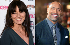 Davina McCall really fancies The Rock and 'secretly tweets' him all the time... It's the Dredge
