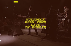 The band Vulfpeck recorded a music video at their Vicar Street gig and the crowd was rowdy as anything
