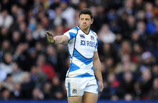 Ex-Scotland centre De Luca urges help for rugby players struggling with mental health