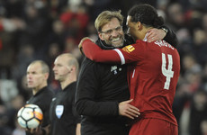 A dream Liverpool debut for Van Dijk as he nets late Merseyside derby winner in front of the Kop