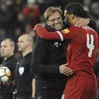 A dream Liverpool debut for Van Dijk as he nets late Merseyside derby winner in front of the Kop