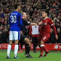 Van Dijk�s dream debut tempered by Firmino and Holgate flashpoint