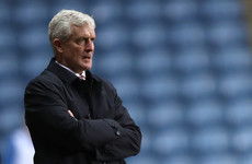 Stoke sack manager Mark Hughes after FA Cup misery