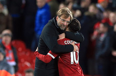 Klopp hails Coutinho's professionalism after he was denied 'dream' Barca move in summer