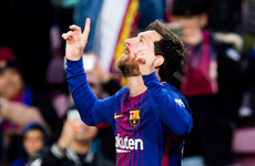 Leo Messi equals Gerd Muller's record ahead of Coutinho's arrival