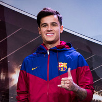 In Pics: Barcelona unveil ex-Liverpool star Coutinho at Camp Nou
