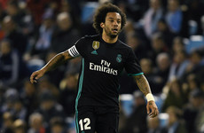 Marcelo: 'Sad' Real Madrid are 'f***ing sunk'