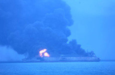 Massive oil tanker 'in danger of exploding' off Chinese coast as 32 sailors remain missing