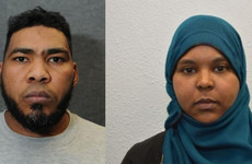 Couple were 'preparing to carry out chemical and bomb attacks in UK'