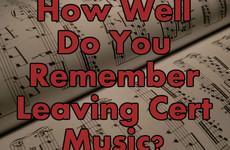 How Well Do You Remember Leaving Cert Music?