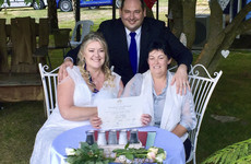 Gay couples marry in midnight ceremonies across Australia