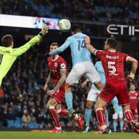 Late drama as Manchester City come from behind to take slender lead to Bristol