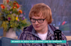 Philip and Holly met an Ed Sheeran lookalike who convinces young fans that Ed left music to work in Asda