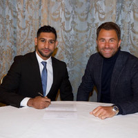 'I�ve been out of the ring for too long and I�m desperate to make up for lost time' - Khan signs with Hearn
