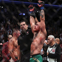 Big John McCarthy appears to have refereed his last major MMA fight