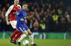 As it happened: Chelsea v Arsenal, League Cup semi-final