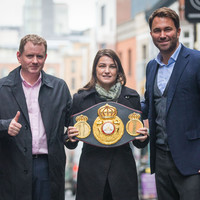 Katie Taylor's Dublin homecoming fight almost over the line as Hearn reveals date