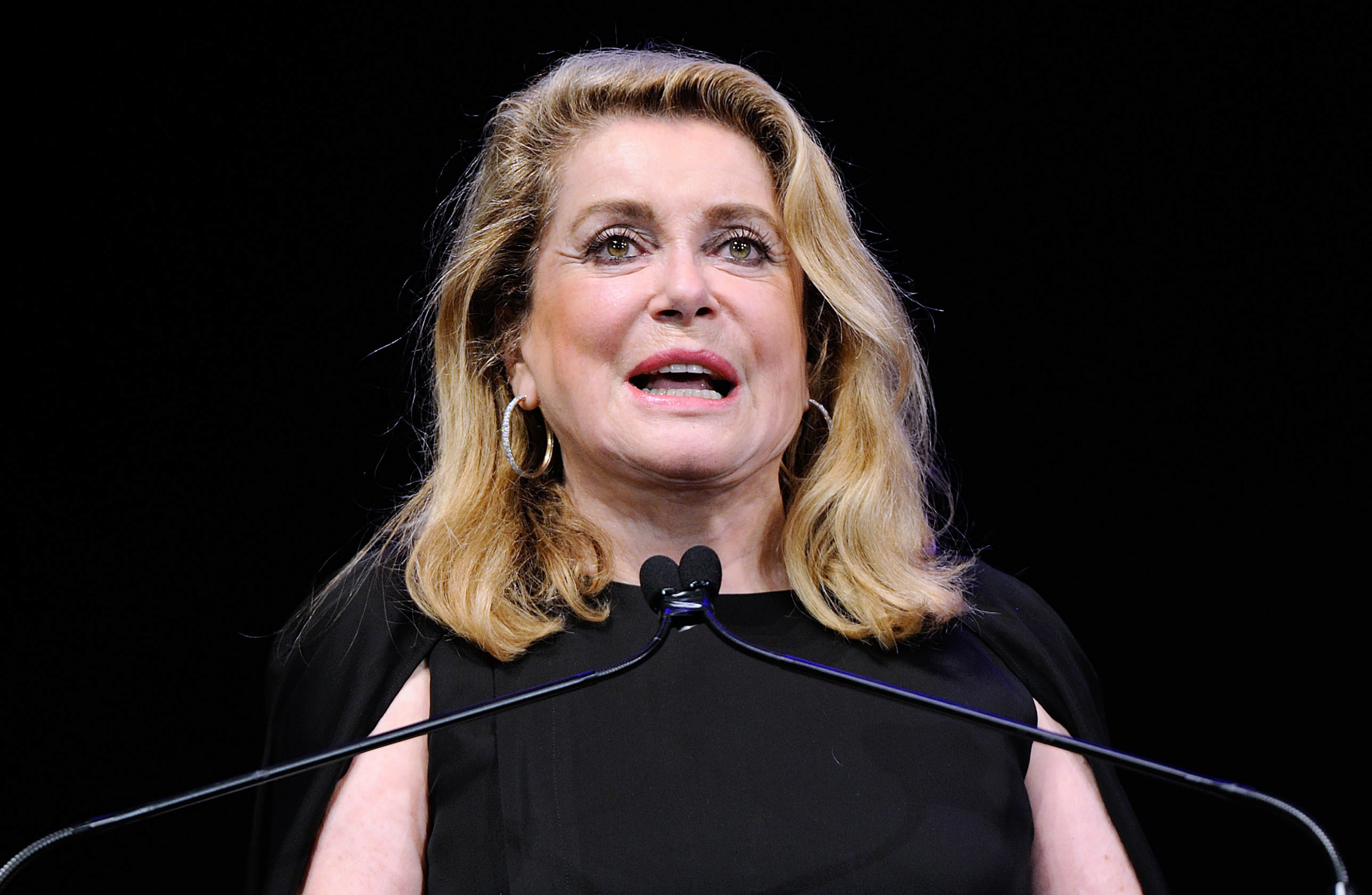 Catherine Deneuve supported the right of men to molest women