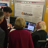 This young scientist had to explain Bitcoin to Michael D Higgins