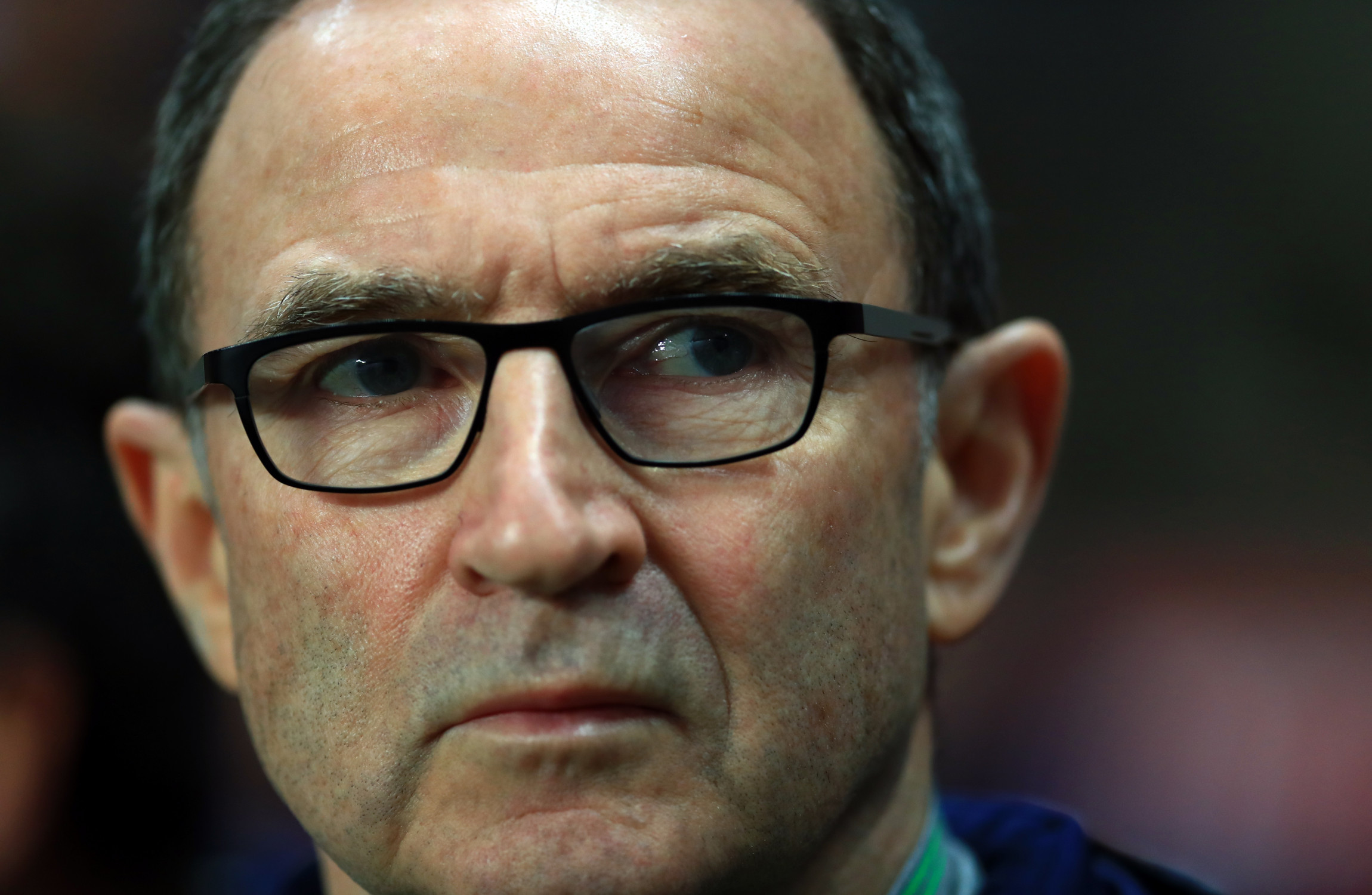 Martin O'Neill now looks unlikely to become the new Stoke boss.                     Image Tim Goode
