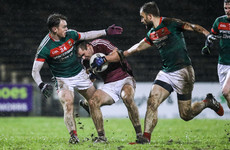 Dramatic finish in Castlebar sees 12-man Galway edge Mayo for second win of 2018