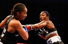 Two-time Olympic champion Claressa Shields successfully retains titles with unanimous win