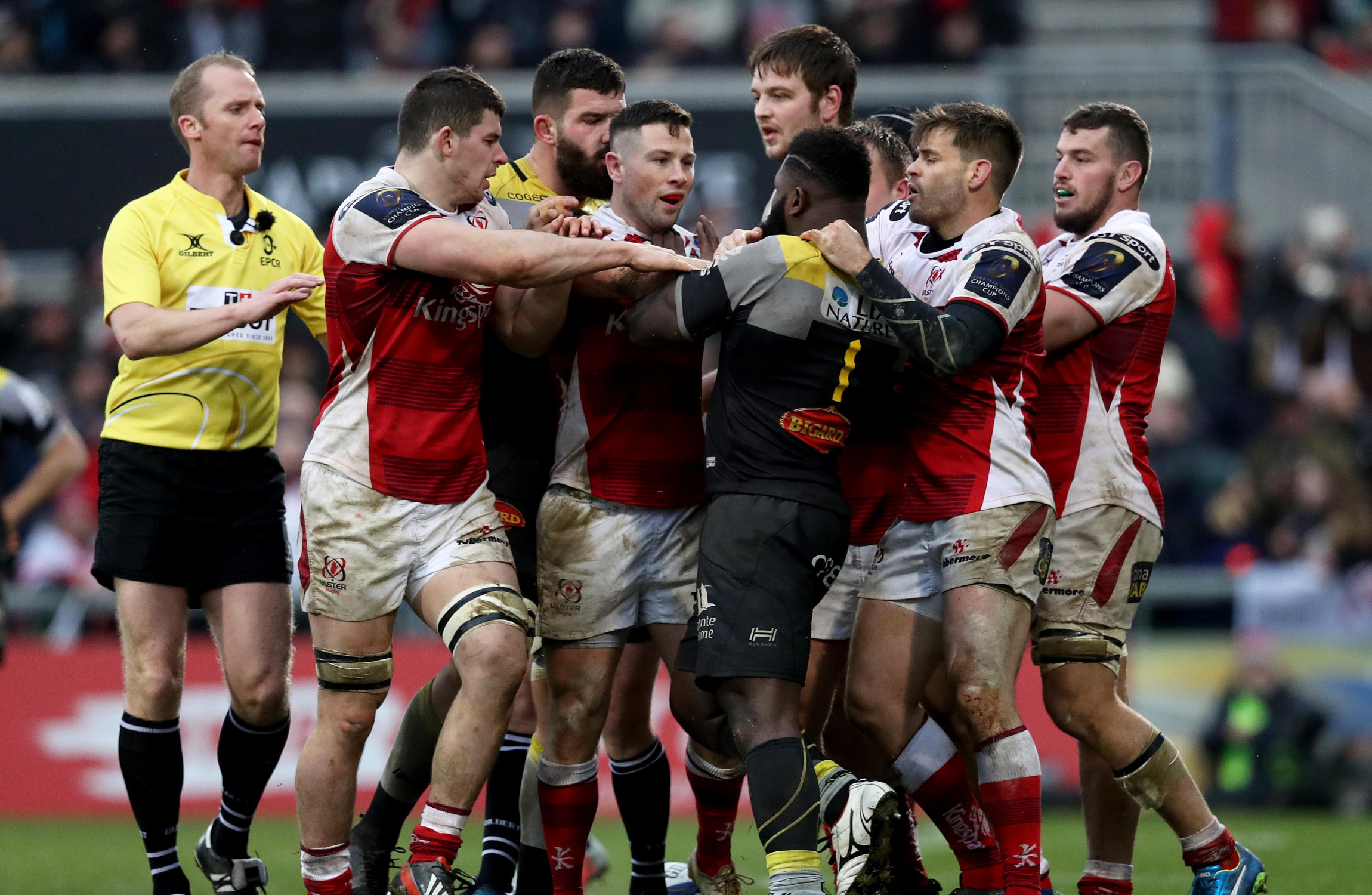 Ulster boost Champions Cup quarter-final hopes with victory over La Rochelle