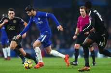 Leicester hold Chelsea at the Bridge despite Chilwell red