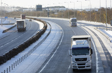Motorists urged to prepare for cold snap and possible snow