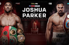Anthony Joshua's world heavyweight title unification bout against Joseph Parker announced