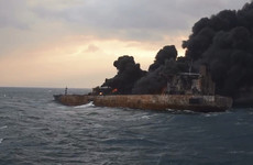 'No hope of survivors' onboard Iranian tanker which burst into flames