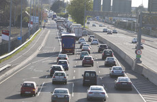 M50 traffic eases after rush hour crash this morning