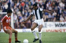 Trailblazing black England player Regis dies, aged 59