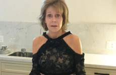 Jane Fonda slept in a fancy gown she wasn't able to get out of, and women are relating hard