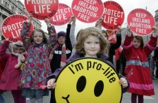 In pictures: Youth Defence anti-abortion protests in Dublin