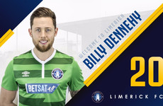 Ex-Cork City and Shamrock Rovers winger Dennehy heads to Limerick