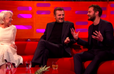 Jamie Dornan told Graham Norton a truly horrific (but gas) story about gluing a wig on his bits