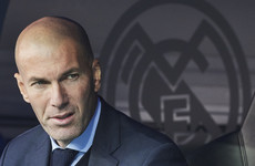 'I'm never going to throw in the towel' - under-fire Zidane confident of Madrid turnaround