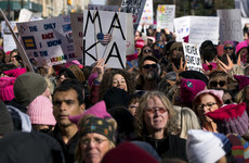 People across the world march in support of MeToo movement on Trump's inauguration anniversary