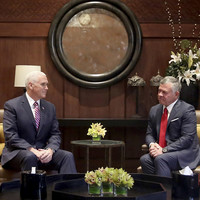 Mike Pence says US would support two-state solution between Palestine and Israel