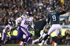 Nick Foles and the Eagles soar to the Super Bowl as they sink the Vikings