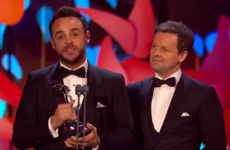 Ant and Dec got all teary winning their 17th Best Presenter award in a row, and so did everyone else