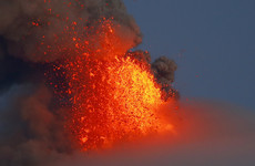 Over 56,000 people forced to flee as major volcanic eruption continues in the Philippines