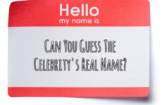 Can You Guess the Celebrity's Real Name?