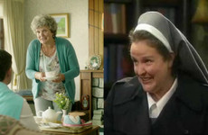 Did you cop that Sr Assumpta from Father Ted is also the woman in the gas boiler ad with Daniel O'Donnell?