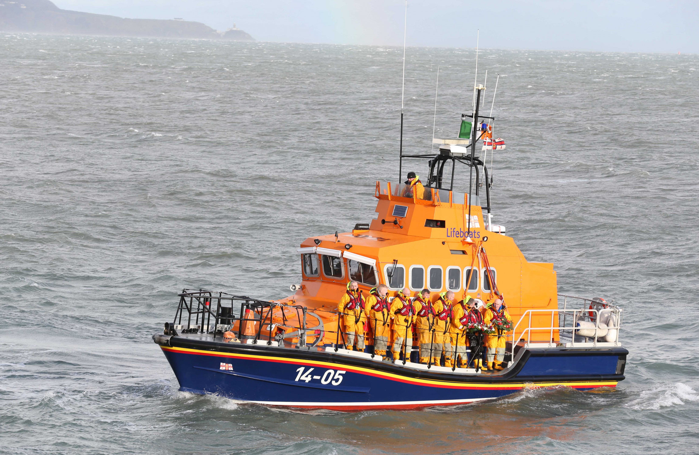 Major search operation underway as vehicle enters water in Howth
