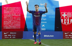 Philippe Coutinho set for Barcelona debut, handed Mascherano's number 14 shirt