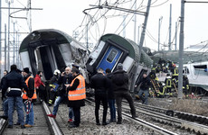 At least 3 killed and 10 seriously injured after train derails near Milan