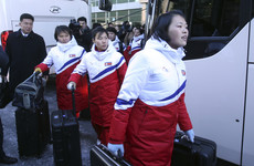 12 North Korean hockey players arrive South to form unified Olympic team